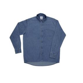Camisa Mezclilla Manga Larga Yazbek C0601 Caballero