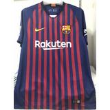 Camiseta De Barcelona Para Niños Todas Las Edades en Mercado Libre Perú 3374e8442e1a8