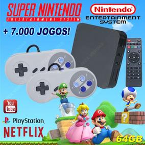 Retro Box - Video Game Retro +7000 Jogos Antigos 64gb
