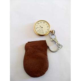 Reloj Para Caballero De Bolsillo Antiguo Waltham Año 1911