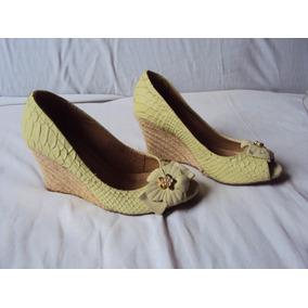 Sapato Verde Feminino Via Marte Tamanho 34