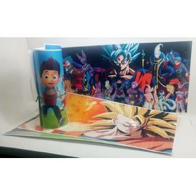 Lámina 33x65cm De Papel Grueso Plastificada - Dragon Ball
