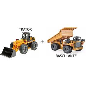 Trator Escavadeira 1520 + Caminhão Basculante 1540 Huina