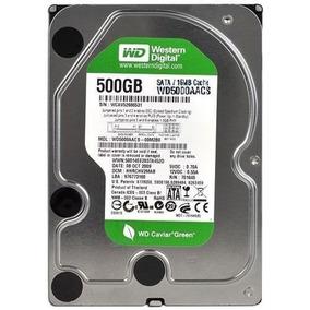 Hd 500gb Western Digital Sata 3gb/s Green Pc Dvr Novo!! 100%