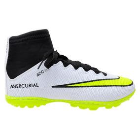 269abb5e9dc8b Chuteira Society Adidas Cano Alto Profissional - Chuteiras Verde no ...