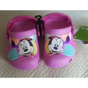 Zapatos Crocs Nuevos Niña, Talla C4/5