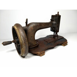 Antiga De Máquina De Costura Manual Manivela Retro Vintage