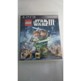Lego Star Wars Iii The Clone Wars Ps3 Original Midia Física