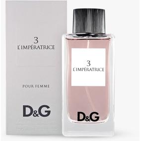 e7096ac6d5c93 Perfume Dolce Gabbana 3 L Impératrice Feminino 100ml - Perfumes no ...