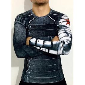Playera Crossfit Winter Soldier Soldado Del Invierno Marvel
