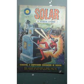 Solar O Homem Átomo Nº 4! Ebal Nov 1966