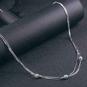 7f65e25f2a18 Collar De 3 Hilos De Perlas De R O Aut Nticas Con Granate - Joyería ...