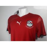 Camisa Puma Egito Home Copa Das Nações Africanas 2010 Nova