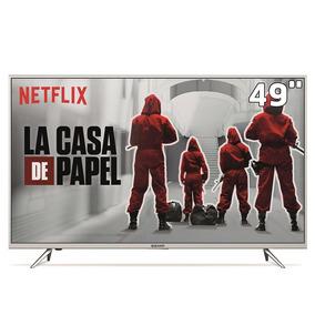 Smart Tv Led 49 Uhd 4k Semp 49k1us Com Hdr Painel Rgb Wifi
