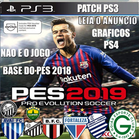 Patch Pes 2019 2018 Ps3 Graficos Show Não E O Jogo Leia