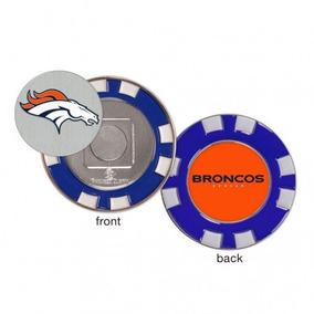 d5113b1aa2 Bola Firmada Por Jerry Rice - Logotipo De Denver Broncos - C. Nuevo León · Denver  Broncos Ficha De Póker Marcador De La Bola De Golf