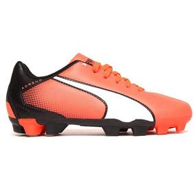22049ce5b1550 Puma Evo Speed Soccer Naranjas - Tacos y Tenis de Fútbol en Mercado ...
