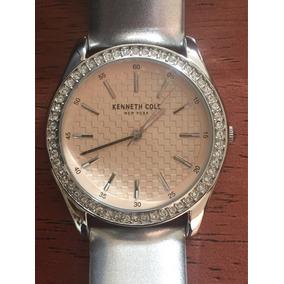 Kenneth Cole Reloj Dama Original Plata Nuevo Modelo