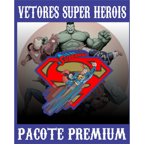 Vetores Super Herois Para Corel Draw