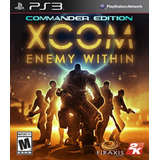 Xcom Enemy Within - Commander Edition Ps3