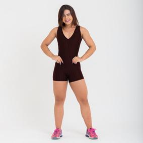8e7b9765f Macacao Fitness Tamanho U - Macacão U para Feminino Preto no Mercado ...