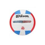 Bola De Vôlei Quicksand Vermelho/azul Wilson - Wth4893xb