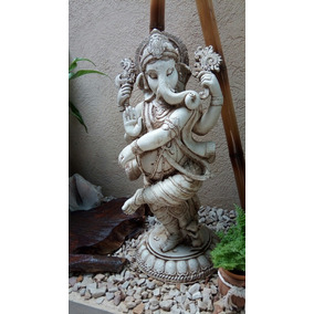 Estatua Buda Ganesha Resina Exterior