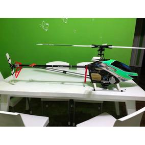 T Rex 700 Gasser - Full 3d Helicoptero Acrobatico - No Drone
