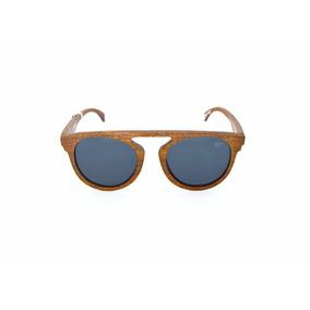 9e8e7fd053cb8 Óculos De Sol Madeira Polarizado Hastes Flexíveis Mr Trend