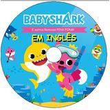 7 Dvds - Abc Kidtv - Cocomelon -+ Baby Shark Em Inglês