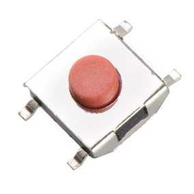 10 Micro Chave Smd 4 Terminais - Knob 1,5mm