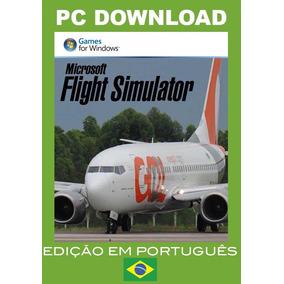 Flight Simulator Fsx Original + Pacote 2019 + Aeroportos Br