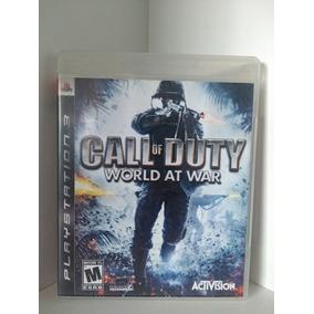 Jogos De Ps3 Midia Fisica Call Of Duty World At War