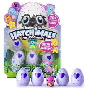 Hatchimals - Pack Com 4 Ovos + Bônus