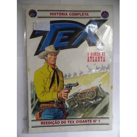 Gibi Tex Reedição Do Tex Gigante Nº 1 - O Homem De Atlanta