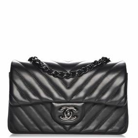 d87f152fefe27 Bolsa Chanel Mini Lambskin Chevron - Bolsas Femininas no Mercado ...
