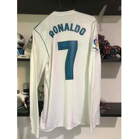 b23da2ee2 Jersey Real Madrid Estampado Original De Cristiano Ronaldo en ...