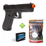 Pistola Airsoft Glock G7 Kwc Spring 6mm + 2000 Bbs