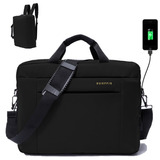 Mochila Portafolio Maletin Backpack Usb Laptop 16´
