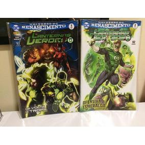 Lanternas Verdes - Renascimento 1 E 2