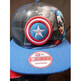 Gorra Capitan America - Ropa 1bf752e125d