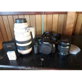 Câmera Cânon Lente Zumn Móvel 100/400