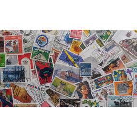Lote Com 300 Selos Diferentes Da Alemanha - Usados