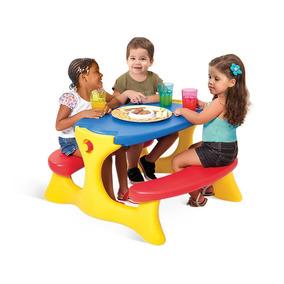 Mesa Hora Recreio Infantil Plastico Super Resistente 7153