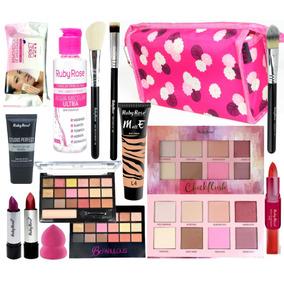 Kit De Maquiagem Completa Makeup Ruby Rose Luisance Queen