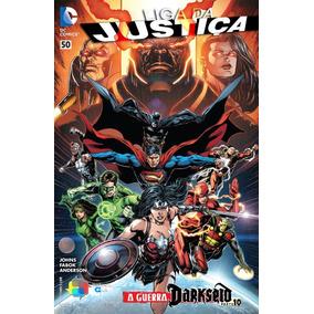Hq Liga Da Justiça - Novos 52 - 2 Ao 52