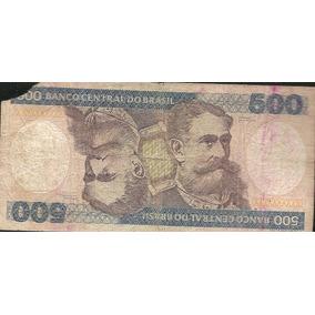 Cédula 500 Cruzeiros Lote 65