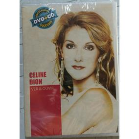 Dvd +cd Celine Dion - Coleção Ver & Ouvir Novo