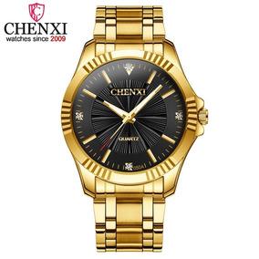 6993799ebaf Relógio Quartz Banhado A Ouro - Relógios De Pulso no Mercado Livre ...