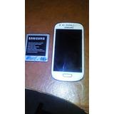 Mica, Pantalla Y Bateria De Samsung S3 Mini Usado 3/4